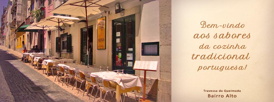 Bem vindo aos sabores da cozinha tradicional portuguesa!